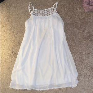 My Michelle White lace dress